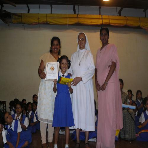 Verse Speaking Competition Primary